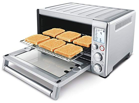 Convection Toaster Oven with toast