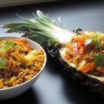 Pineapple Vegan Fried Rice recipe